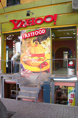 Yahoo! Fast Food Bar